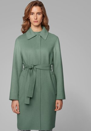 Classic coat - light green