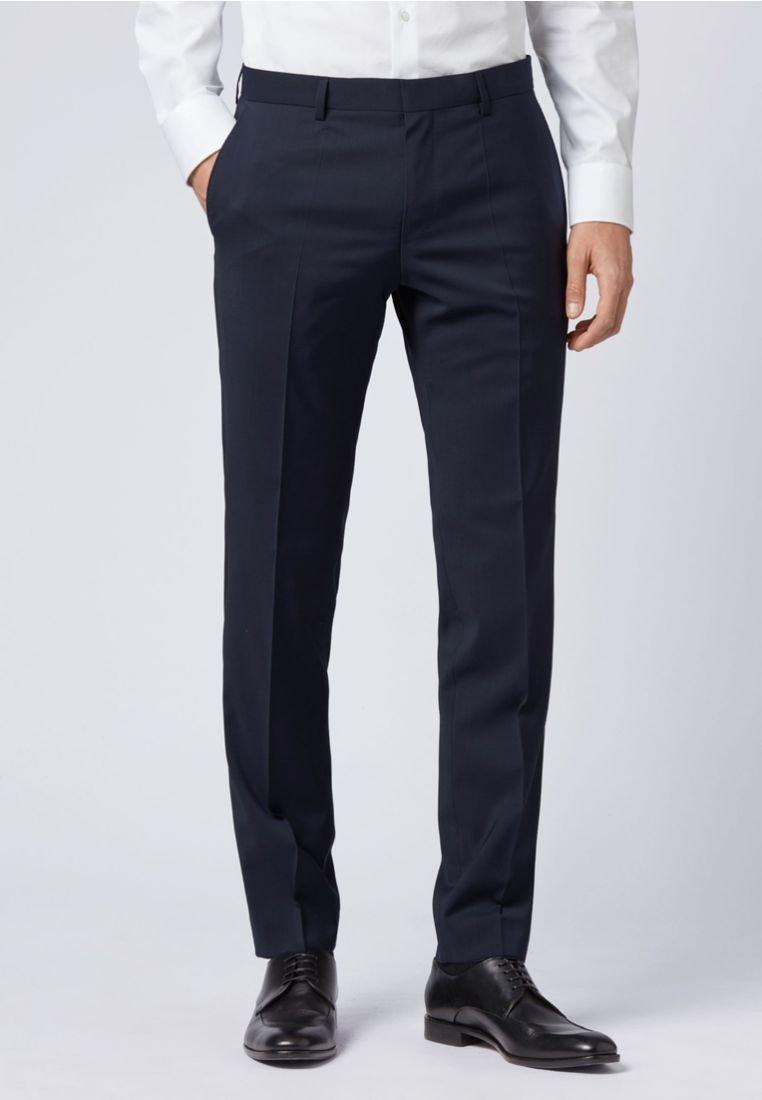 BOSS - GENIUS - Suit trousers - dark blue