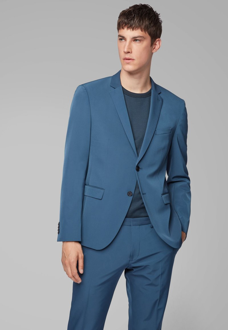 BOSS - SET - Anzug - blue