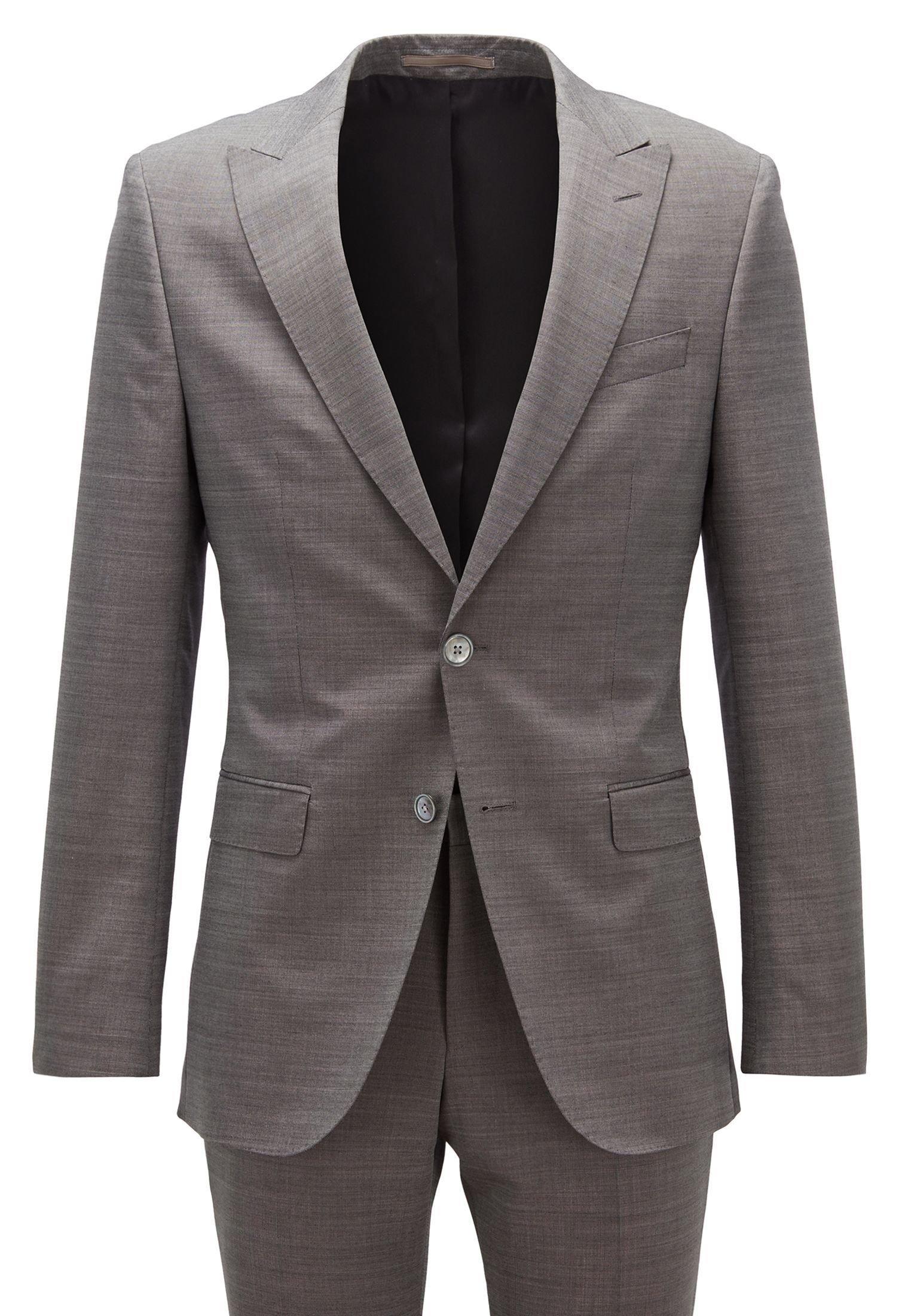BOSS NOVID4/BEN2 - Suit - open grey