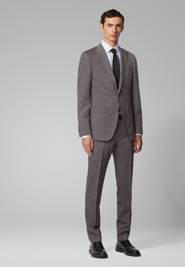 NOVID4/BEN2 - Anzug - open grey