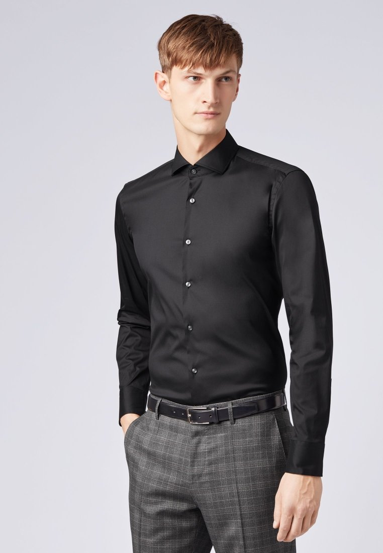 BOSS - JASON SLIM FIT  - Businesshemd - black