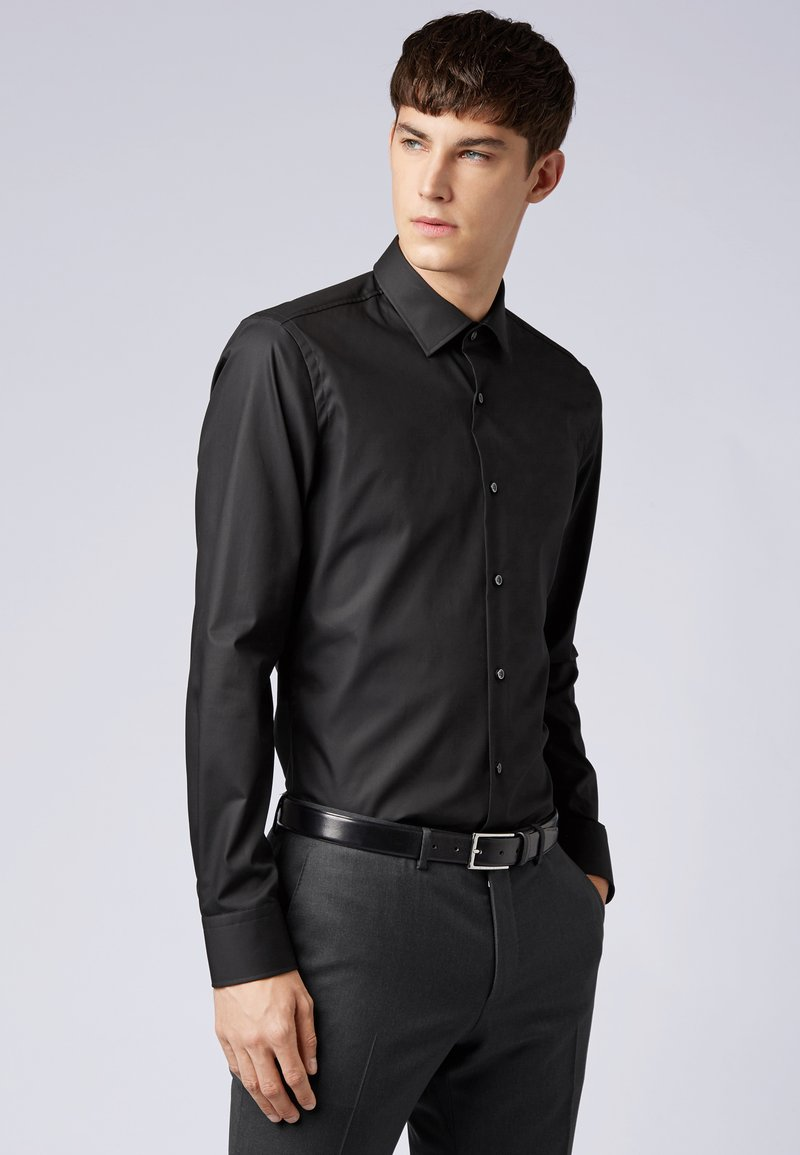 BOSS - JENNO SLIM FIT - Zakelijk overhemd - black