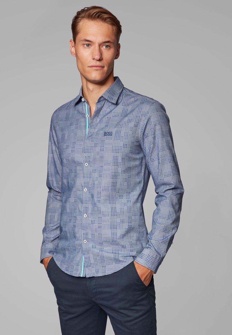 BOSS - REGULAR FIT - Shirt - dark blue