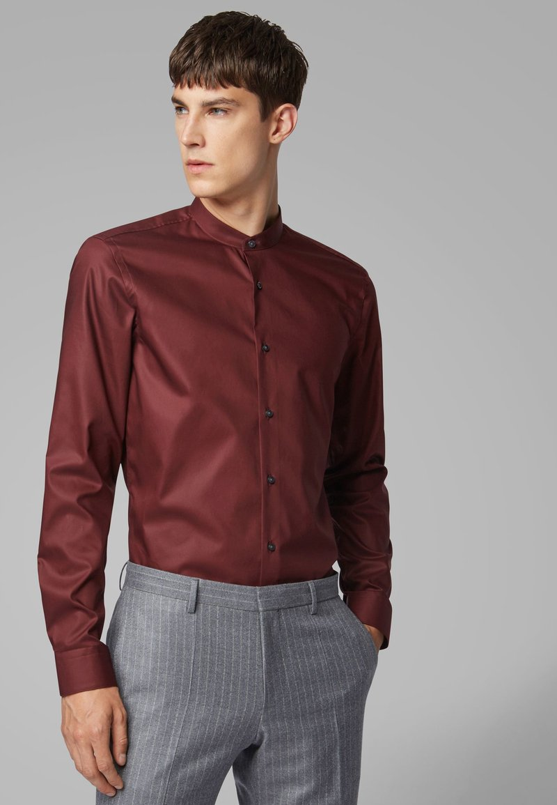 BOSS - JORDI - Camicia - dark red