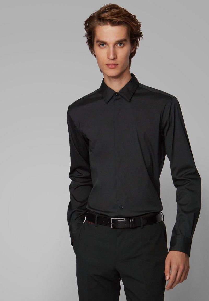 BOSS - PORSCHE CAPSULE RYAN - Camicia elegante - black