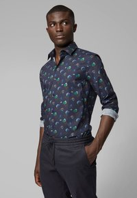 BOSS - SLIM FIT - Hemd - dark blue - 0