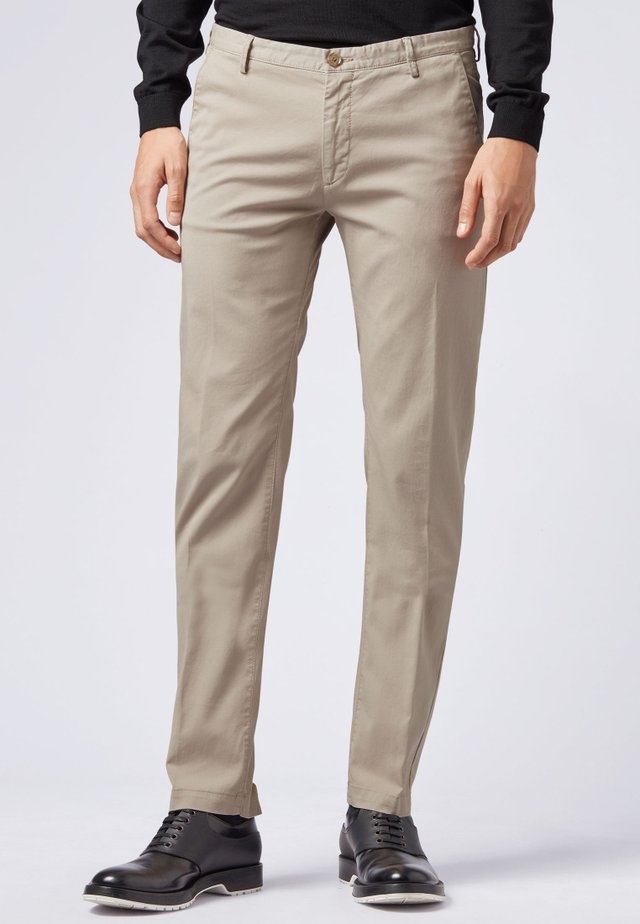 RICE3-D SLIM FIT - Chinos - open beige
