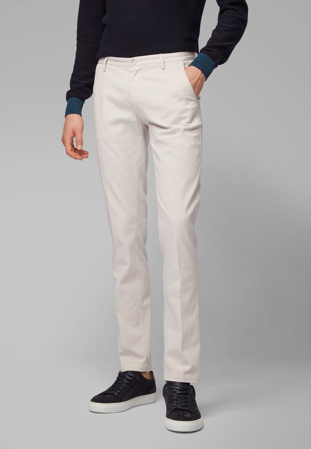 RICE3-D SLIM FIT - Chino - natural