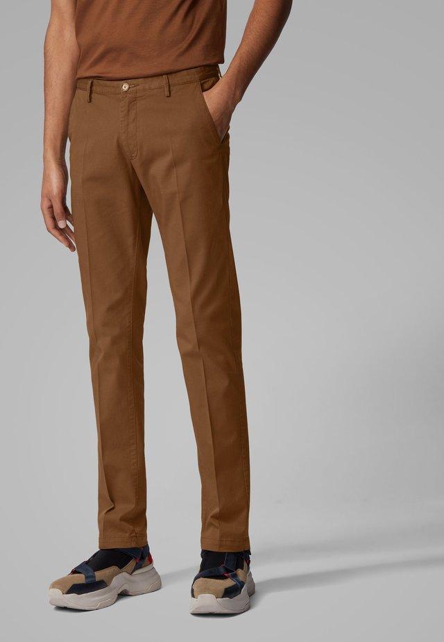 RICE3-D SLIM FIT - Chinos - dark brown