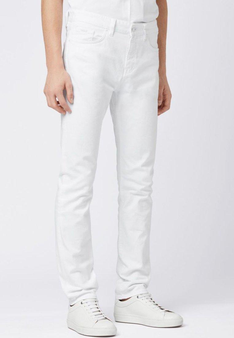 BOSS - DELAWARE Slim Fit - Jean slim - white