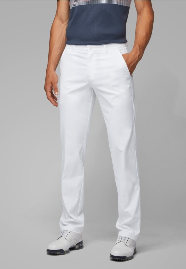 HAKAN 9-2 - Trousers - white