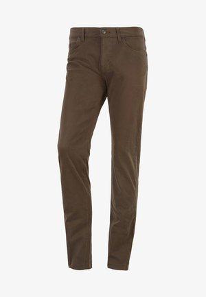 DELAWARE - Slim fit jeans - open green
