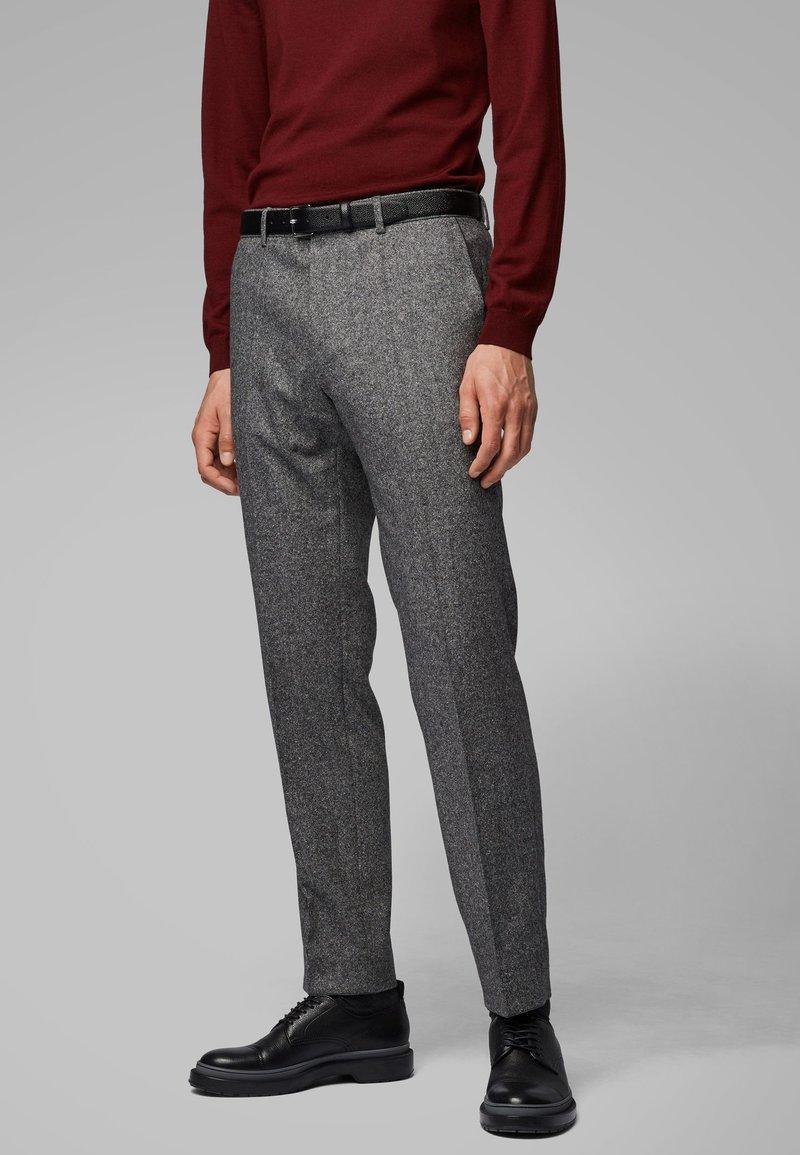 BOSS - GIRO - Suit trousers - grey