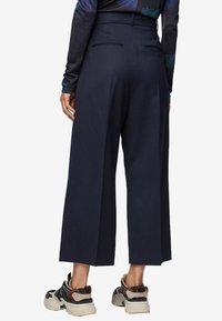 BOSS - TAYAMANA - Trousers - open blue - 2