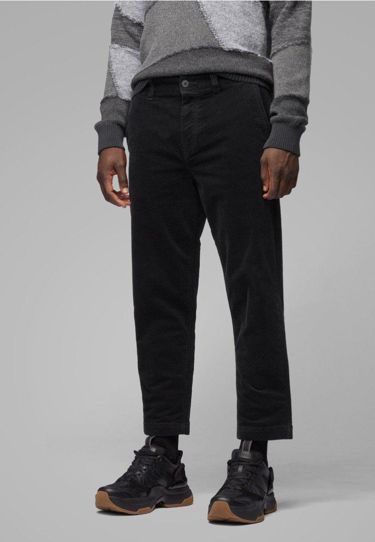 BOSS - SALT  - Straight leg jeans - black