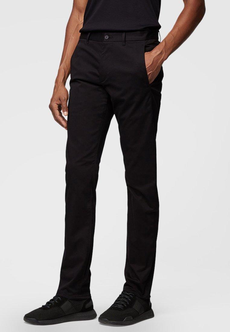 BOSS - LEEMAN - Trousers - black