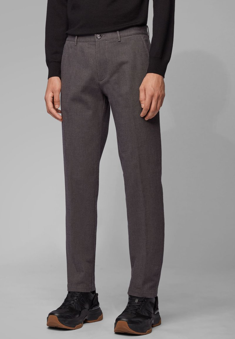 BOSS - CRIGAN - Trousers - grey
