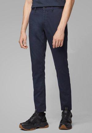 SCHINO-MODERN - Trousers - dark blue