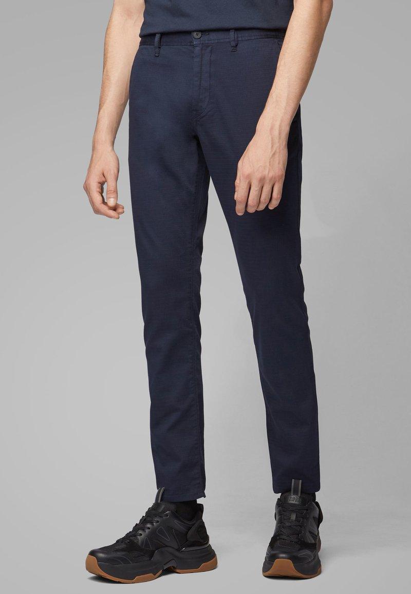 BOSS - SCHINO-MODERN - Trousers - dark blue