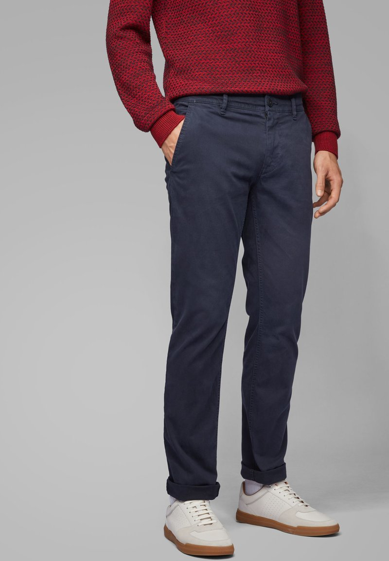 BOSS - SCHINO - Chinos - dark blue