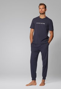 BOSS - Pyjama bottoms - dark blue - 1