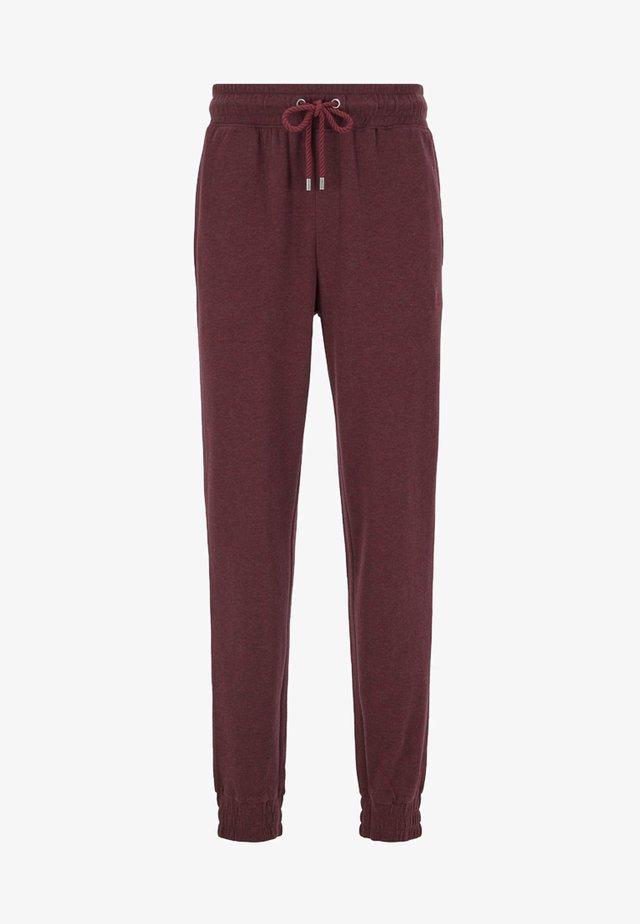 Pantalon de survêtement - dark red