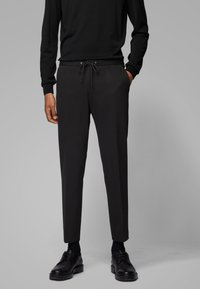 BOSS - BANKS - Broek - black - 0