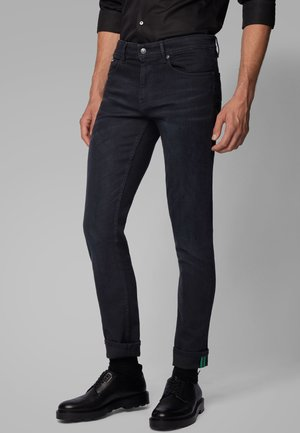 CHARLESTON - Slim fit jeans - black