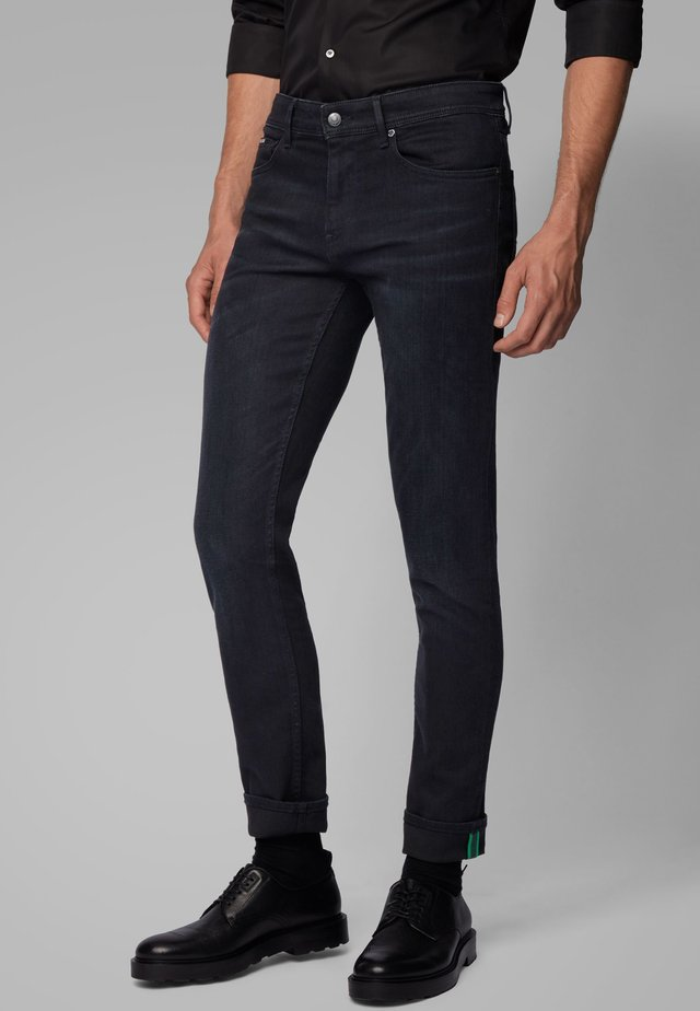 CHARLESTON - Slim fit jeans - black