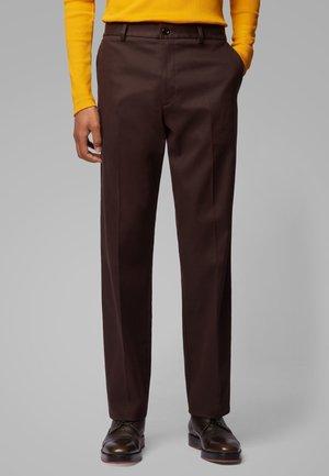 PARKO - Trousers - dark brown