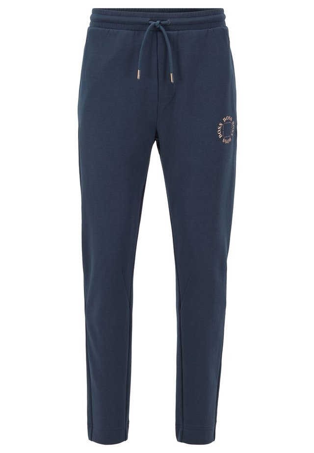 HALBOA CIRCLE - Tracksuit bottoms - dark blue
