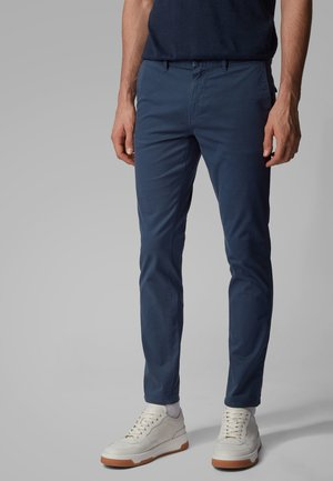 SCHINO-MODERN - Trousers - dark blue
