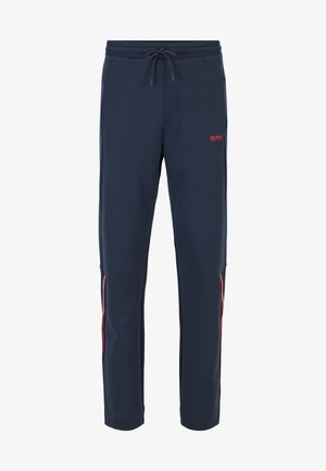 HALKO - Tracksuit bottoms - dark blue