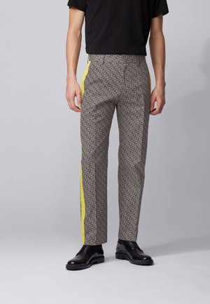 PABLO1_HB - Trousers - black