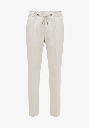 BARDON - Trousers - natural