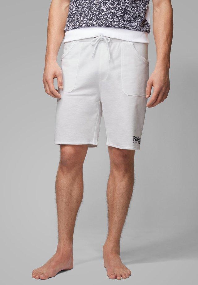 JACQUARD SHORTS - Short - white