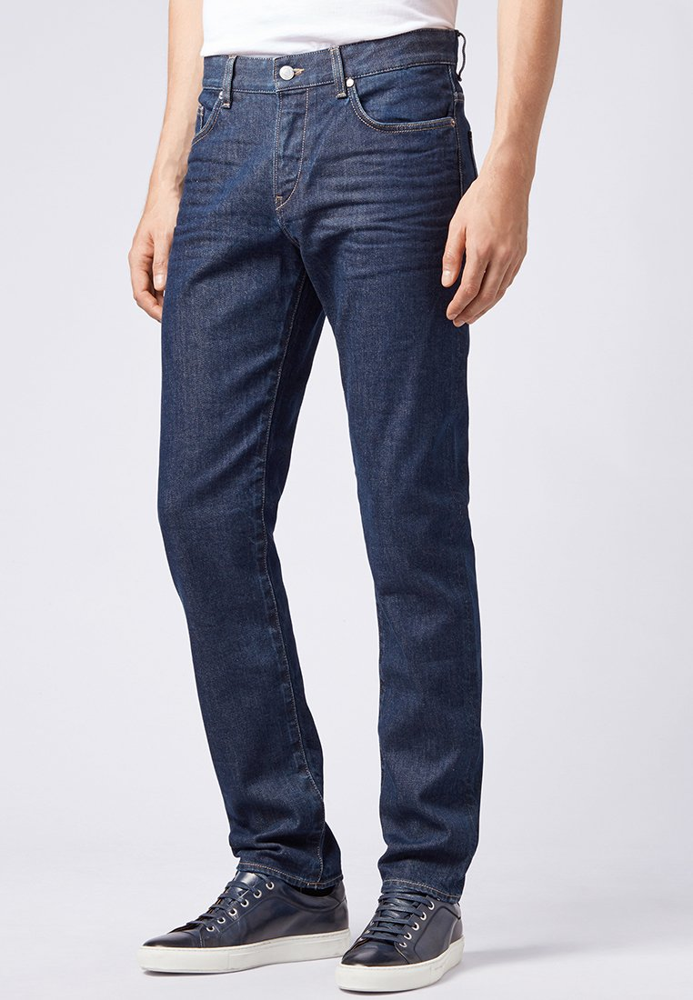 BOSS - DELAWARE3-1 - Slim fit jeans - dark blue