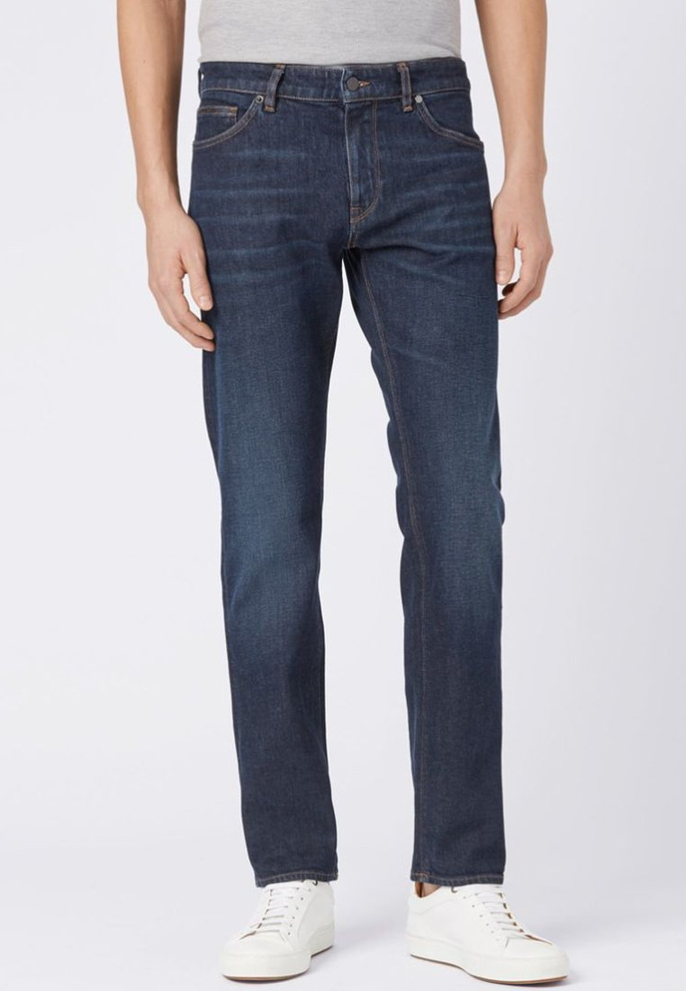 BOSS - MAINE Straight Leg - Straight leg jeans - blue