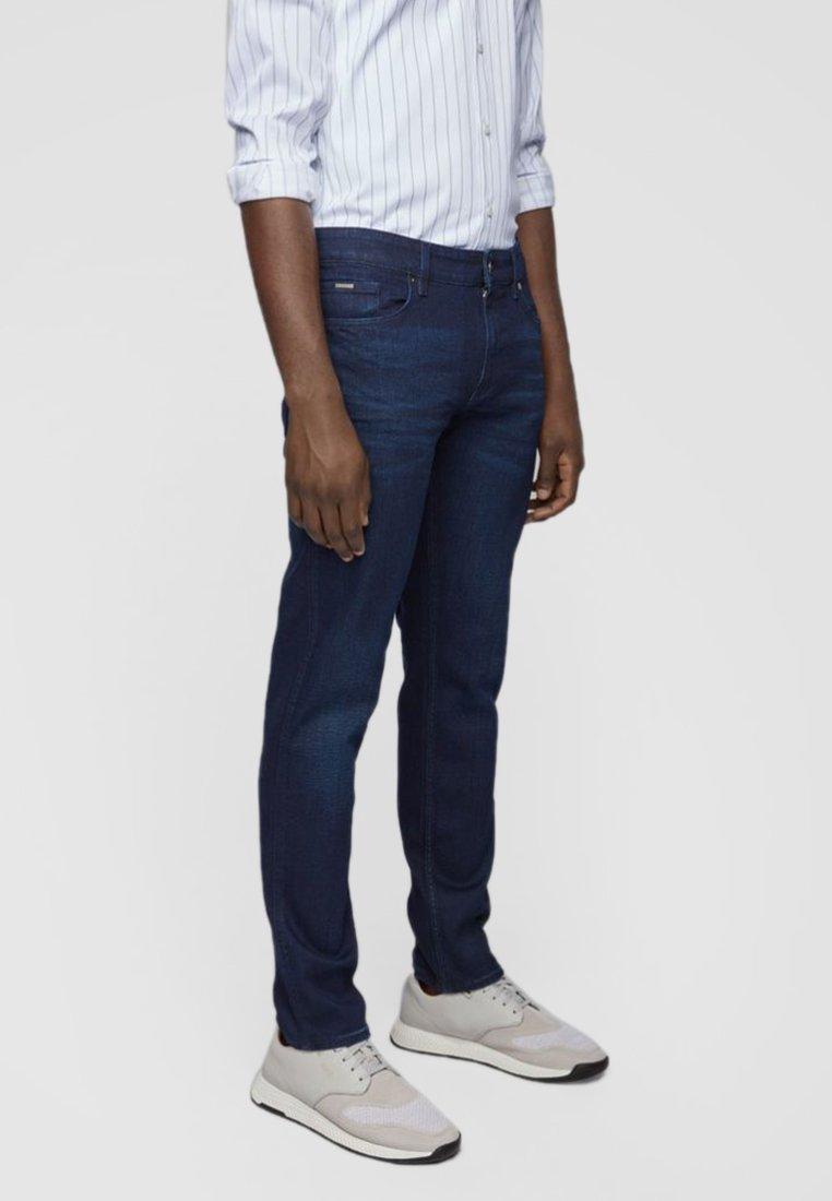 BOSS - DELAWARE - Slim fit jeans - dark blue