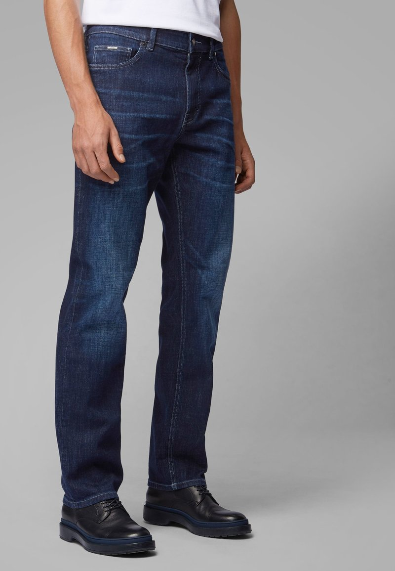 BOSS - ALBANY - Relaxed fit jeans - blue