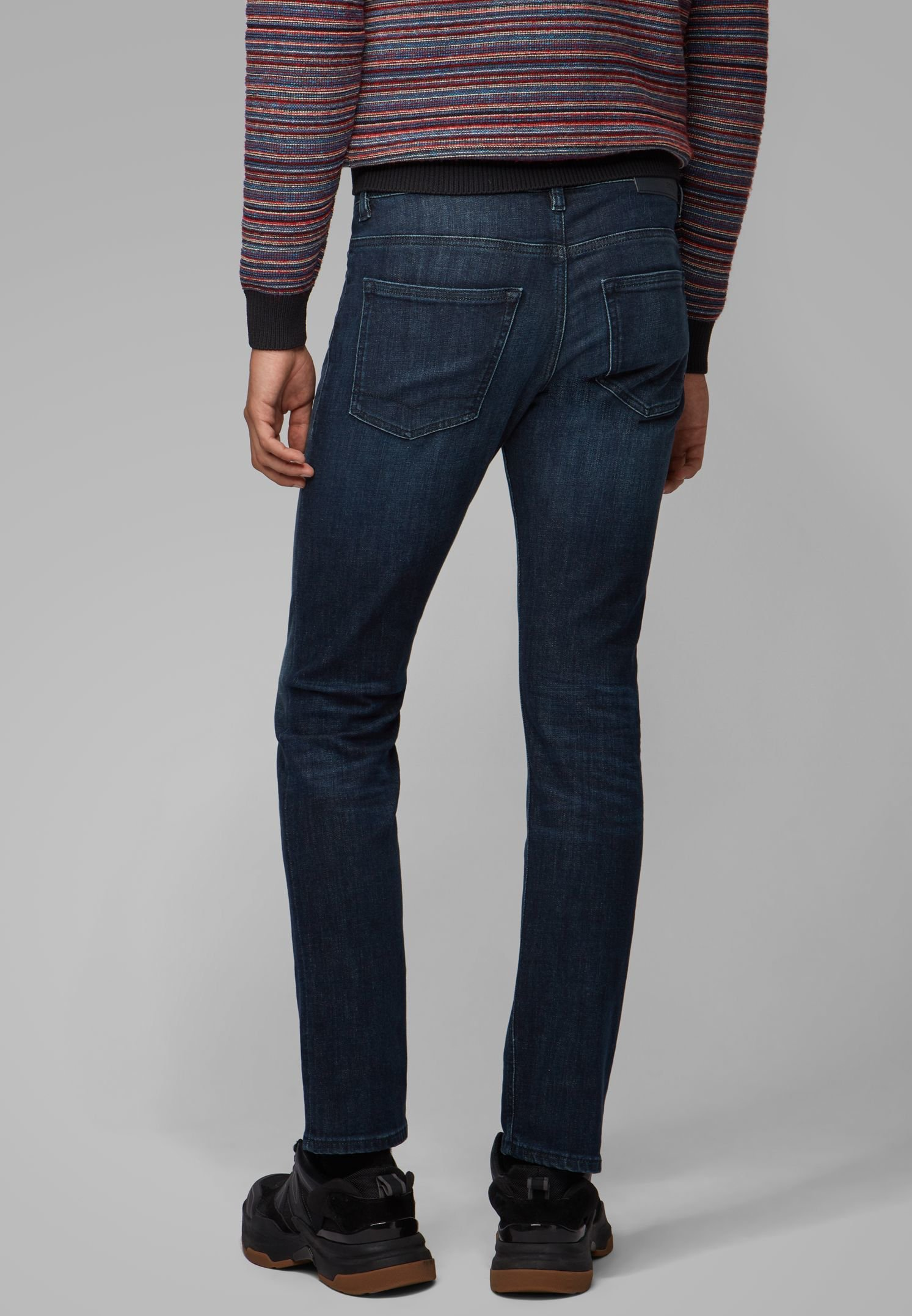 Boss Delaware - Jeans Slim Fit Dark Blue