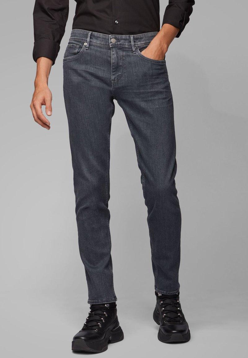 BOSS - CHARLESTON - Slim fit jeans - anthracite