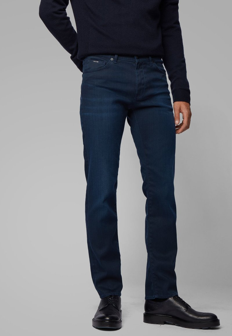 BOSS - MAINE - Jean droit - dark blue