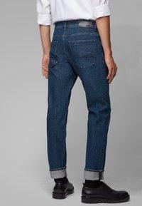 BOSS - DELAWARE - Straight leg jeans - dark blue - 2