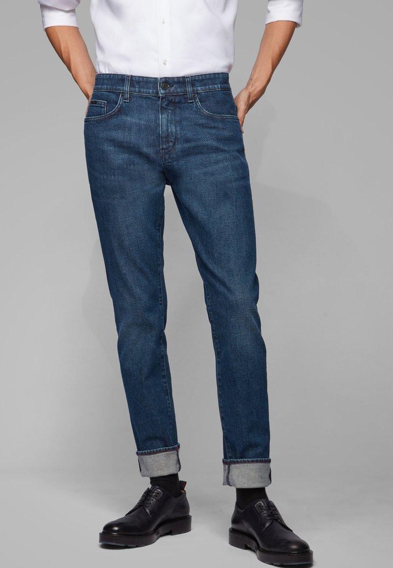 BOSS - DELAWARE - Straight leg jeans - dark blue