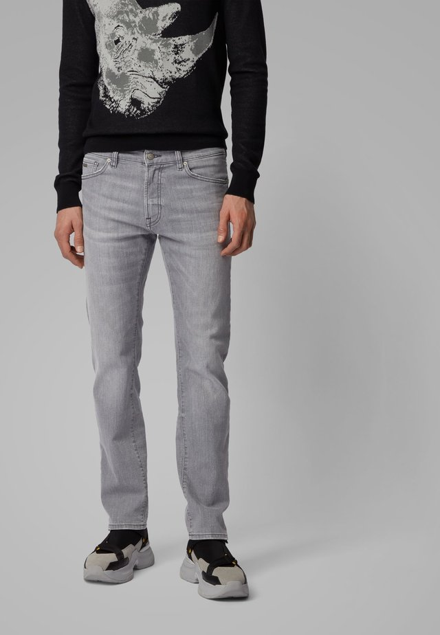 MAINE BC-L-P - Straight leg jeans - grey