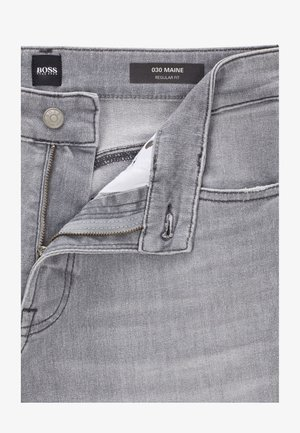 MAINE BC-L-P - Jeans Straight Leg - grey