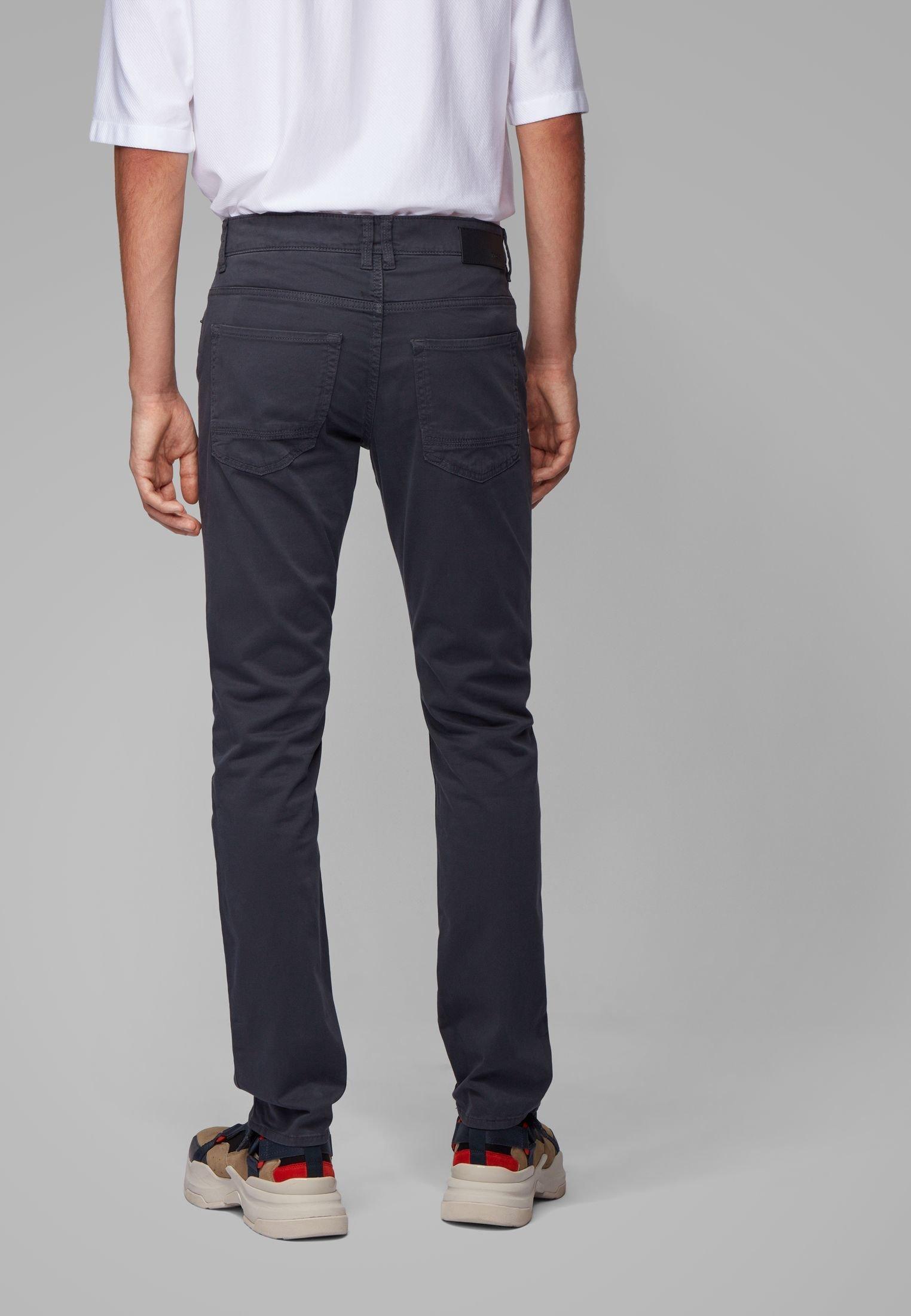 Boss Delaware3-1-20+ - Slim Fit Jeans Dark Blue