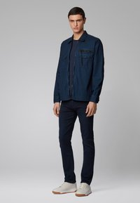 BOSS - DELAWARE BC-L-P - Slim fit jeans - dark blue - 1